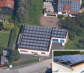 15 kWp PV-plant in Ennepetal, Germany